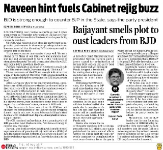 New Indian Express,Page- O2. Dt. 5.05.17