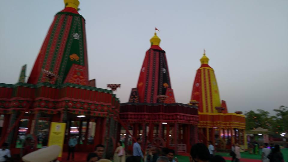 MP Baijayant Jay Panda encounters stunning Odia temples at Utkal Diwas