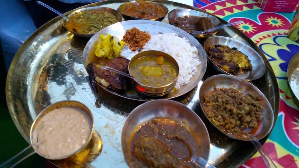MP Baijayant Jay Panda savours Odia cuisine at Utkal Diwas