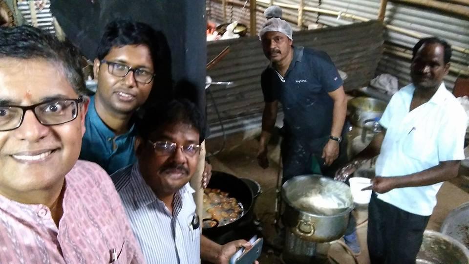 MP Baijayant Jay Panda with culinary architects at Utkal Diwas