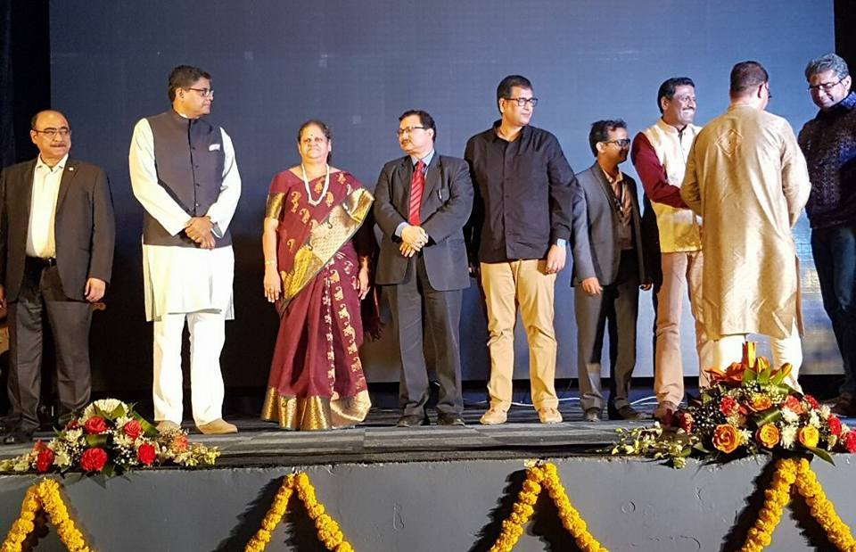 MP Baijayant Jay Panda with members of Odia community and Indian consulate officials in Dubai